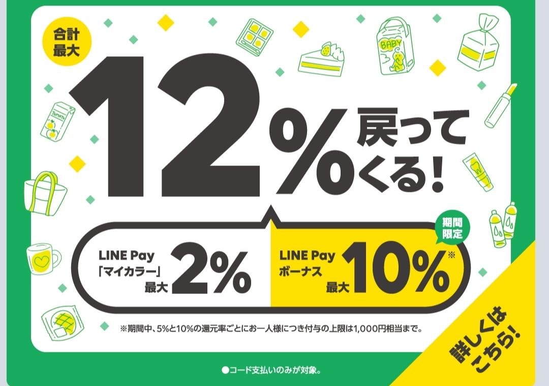 LINE Payのお得なキャンペーン