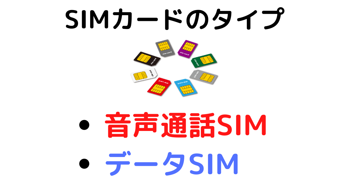 LINEモバイルのSIMカードタイプ