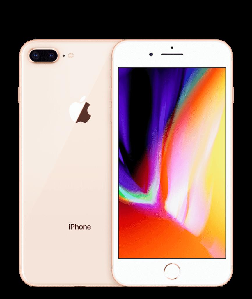 iPhone8Plusのゴールド