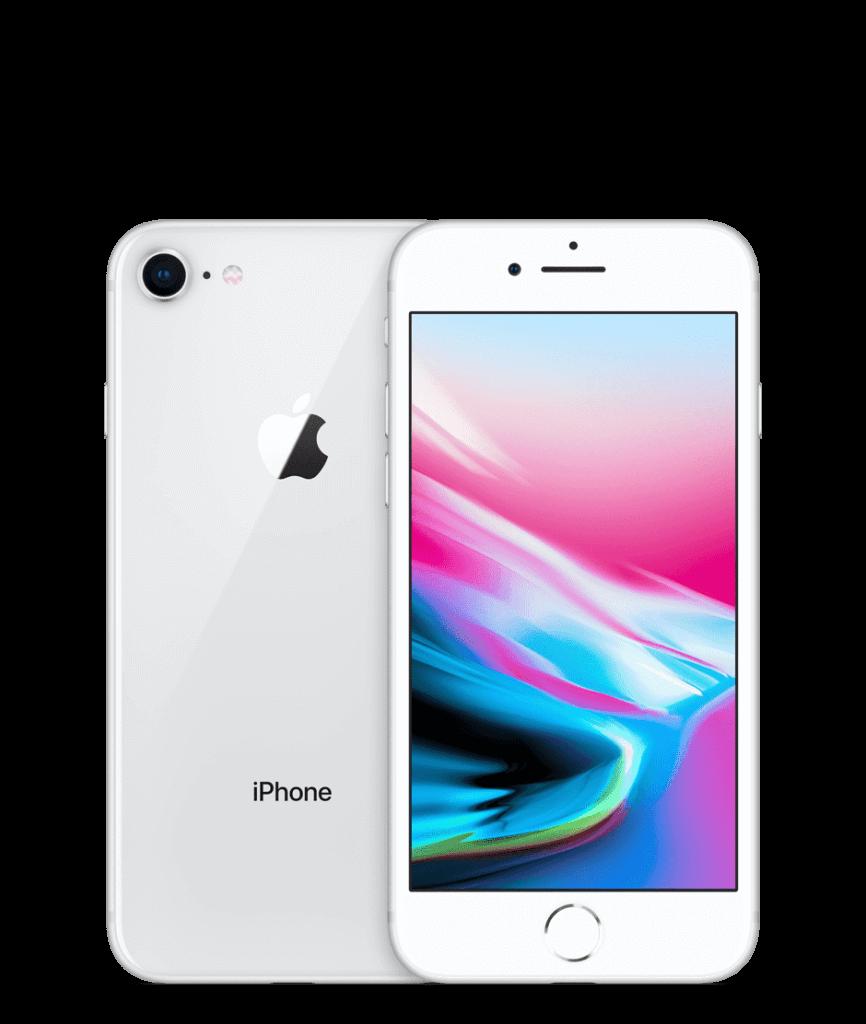 iPhone8のシルバー