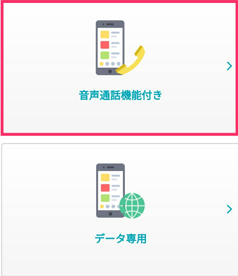 U-mobile音声通話SIM