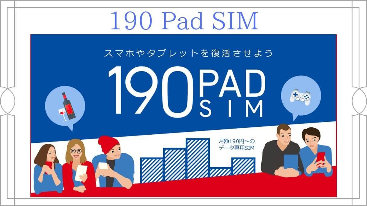 b-mobile Sの190 Pad SIM