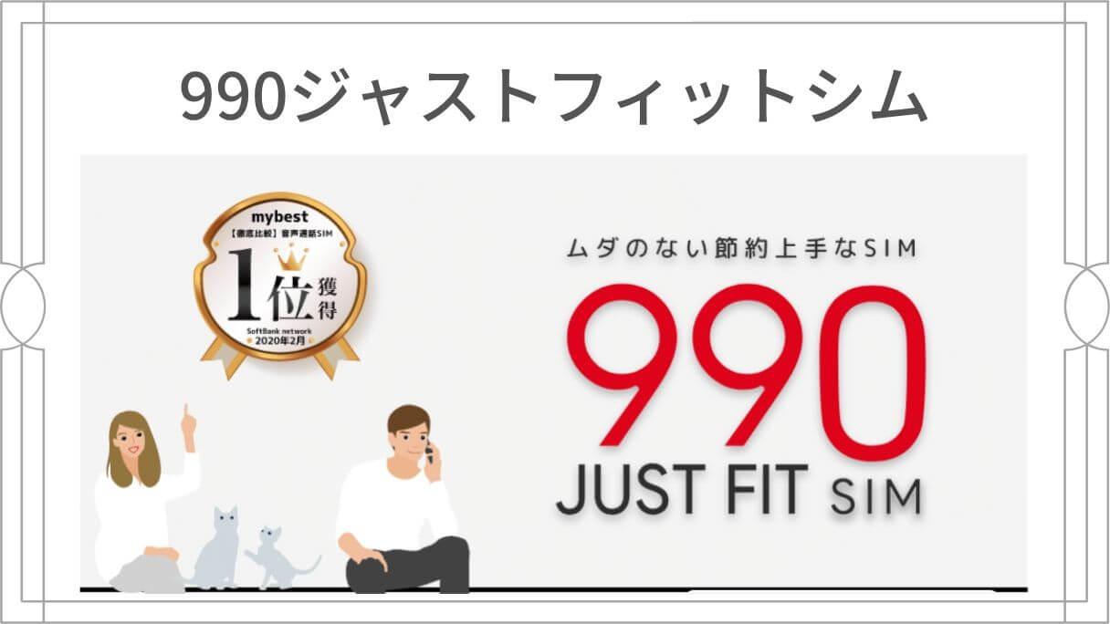 b-mobile S 990ジャストフィットシム