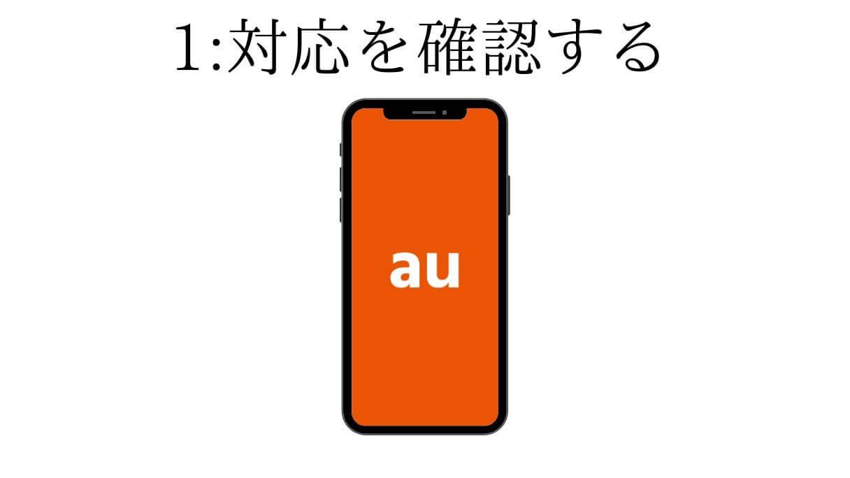 auのアイフォンが乗り換える格安SIMに対応はしているのか