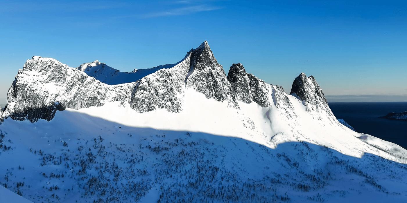 スマホで撮影した氷山