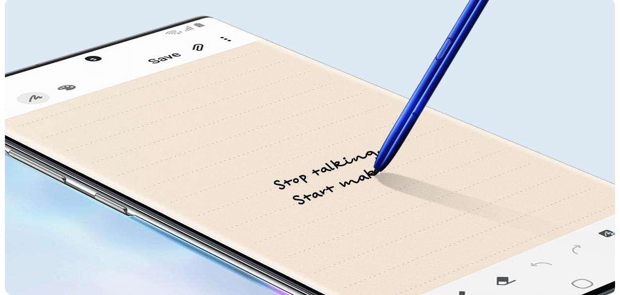楽天モバイルのGalaxy Note10のSペン
