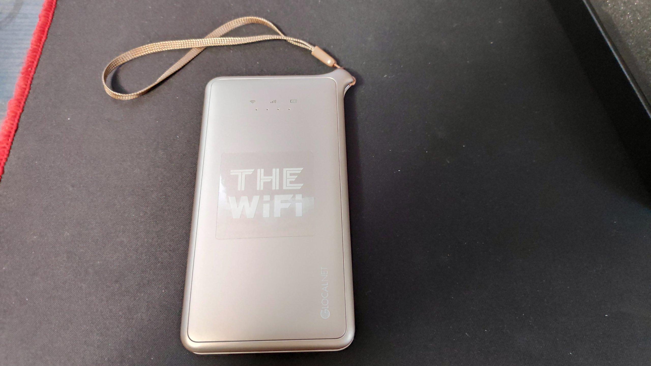 THE Wifiの端末(U2s)